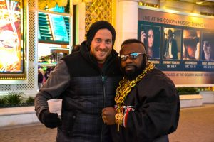Helli mit Little Mr. T